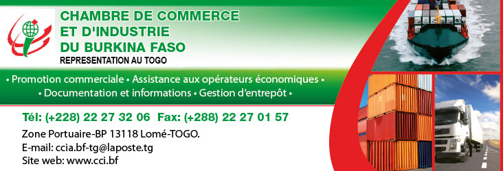 Ccibf chambre de commerce et d 39 industrie du burkina faso for Chambre de commerce du burkina