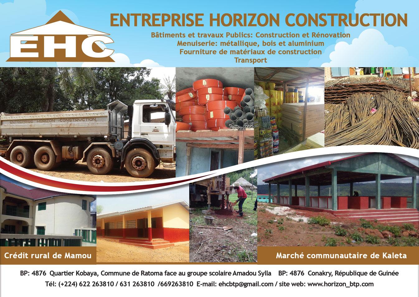Entreprise horizon construction b timent travaux publics for Entreprise construction
