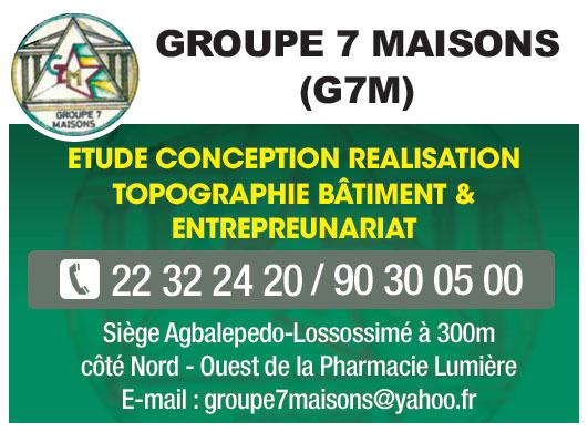 G7M (GROUPE 7 MAISONS) - Génie civil