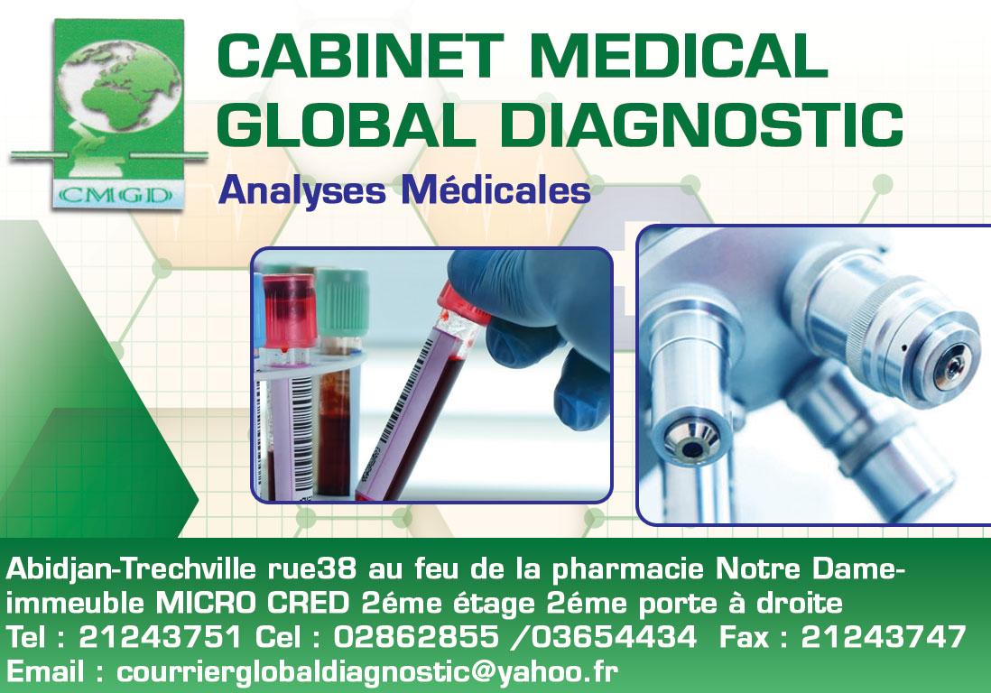 Cabinet medical global diagnostic laboratoires d 39 analyses m dicales - Cabinet analyse medicale ...