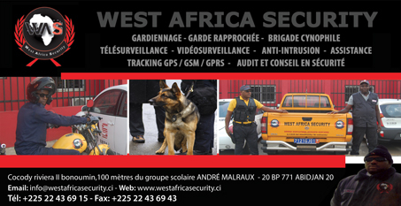 WEST AFRICA SECURITY