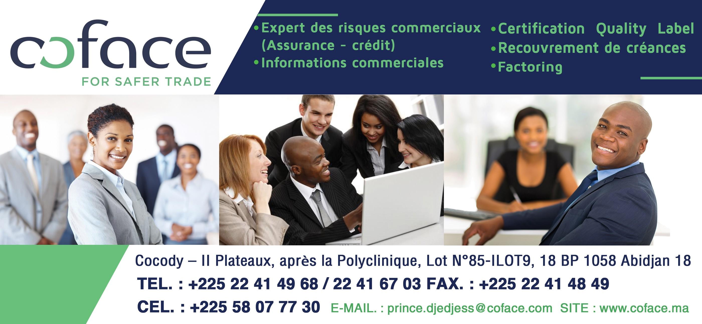 Coface compagnie francaise d 39 assurance pour le commerce for Compagnie francaise d assurance pour le commerce exterieur
