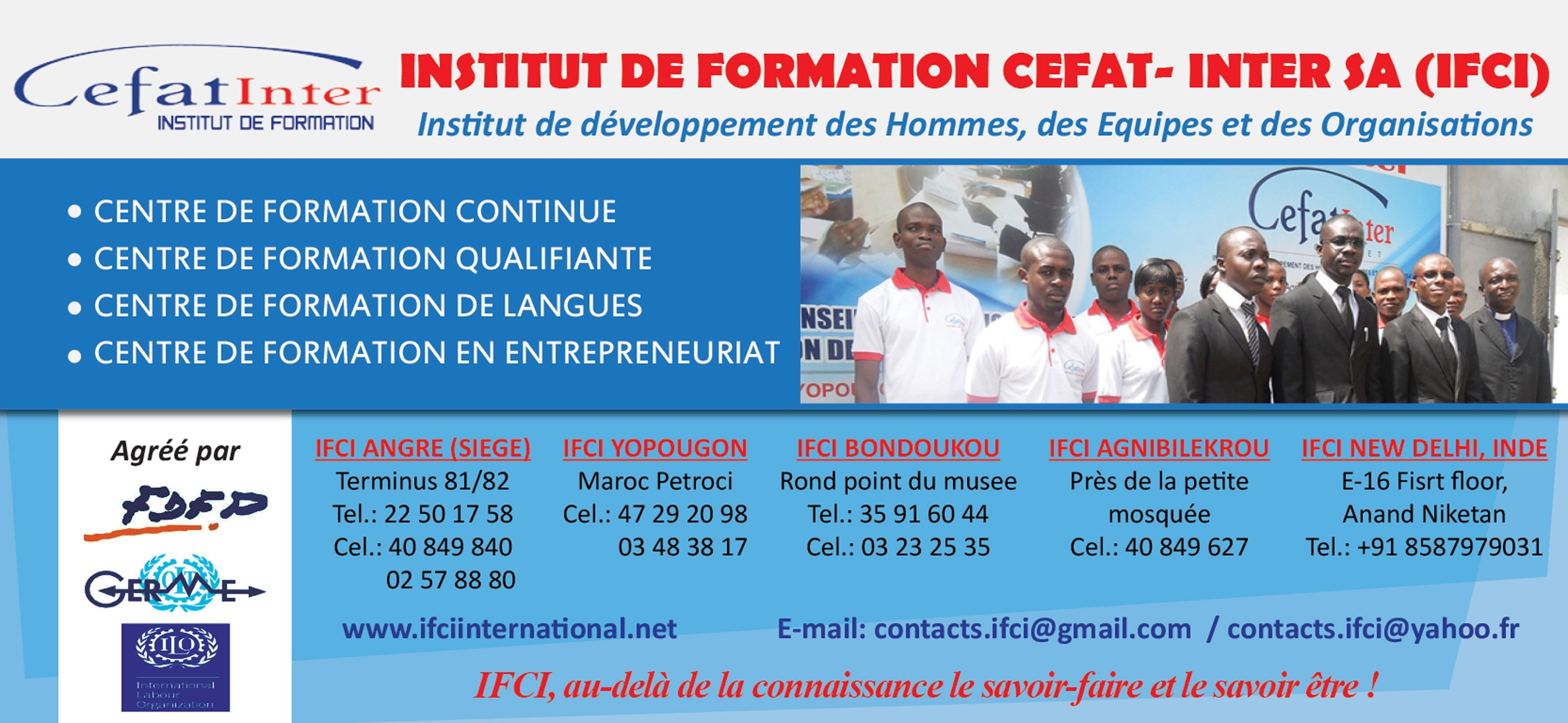 Cefat inter formation professionnelle - Cabinet de formation professionnelle ...