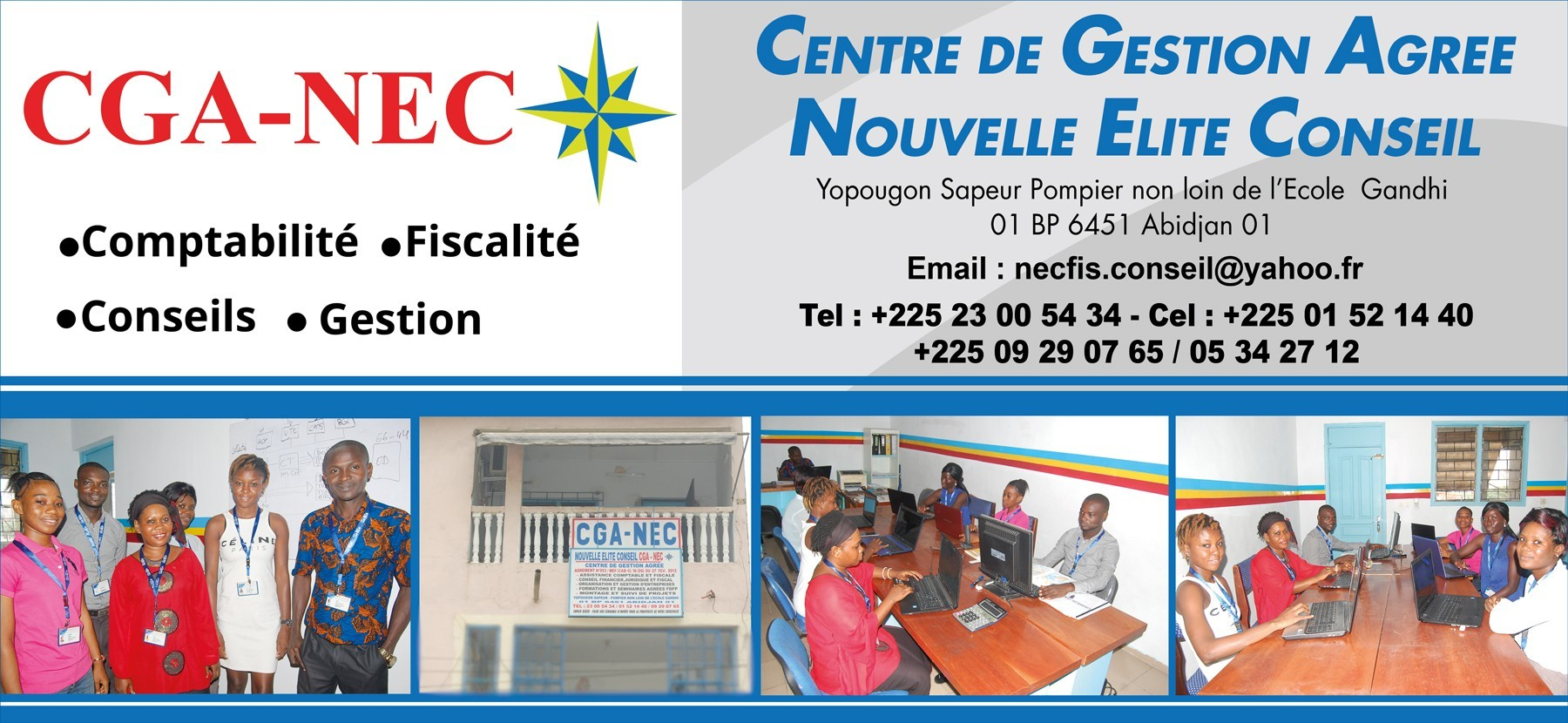 Cga nec centre de gestion agree nouvelle elite conseil expertise comptable - Cabinet d expertise comptable au benin ...