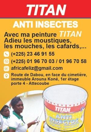 Titan anti insectes peinture for Peinture anti insectes
