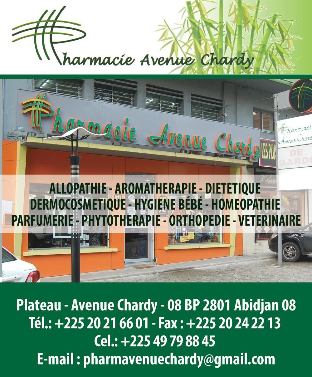 Hardy S Ufs Pharmacy: PHARMACIE AVENUE CHARDY