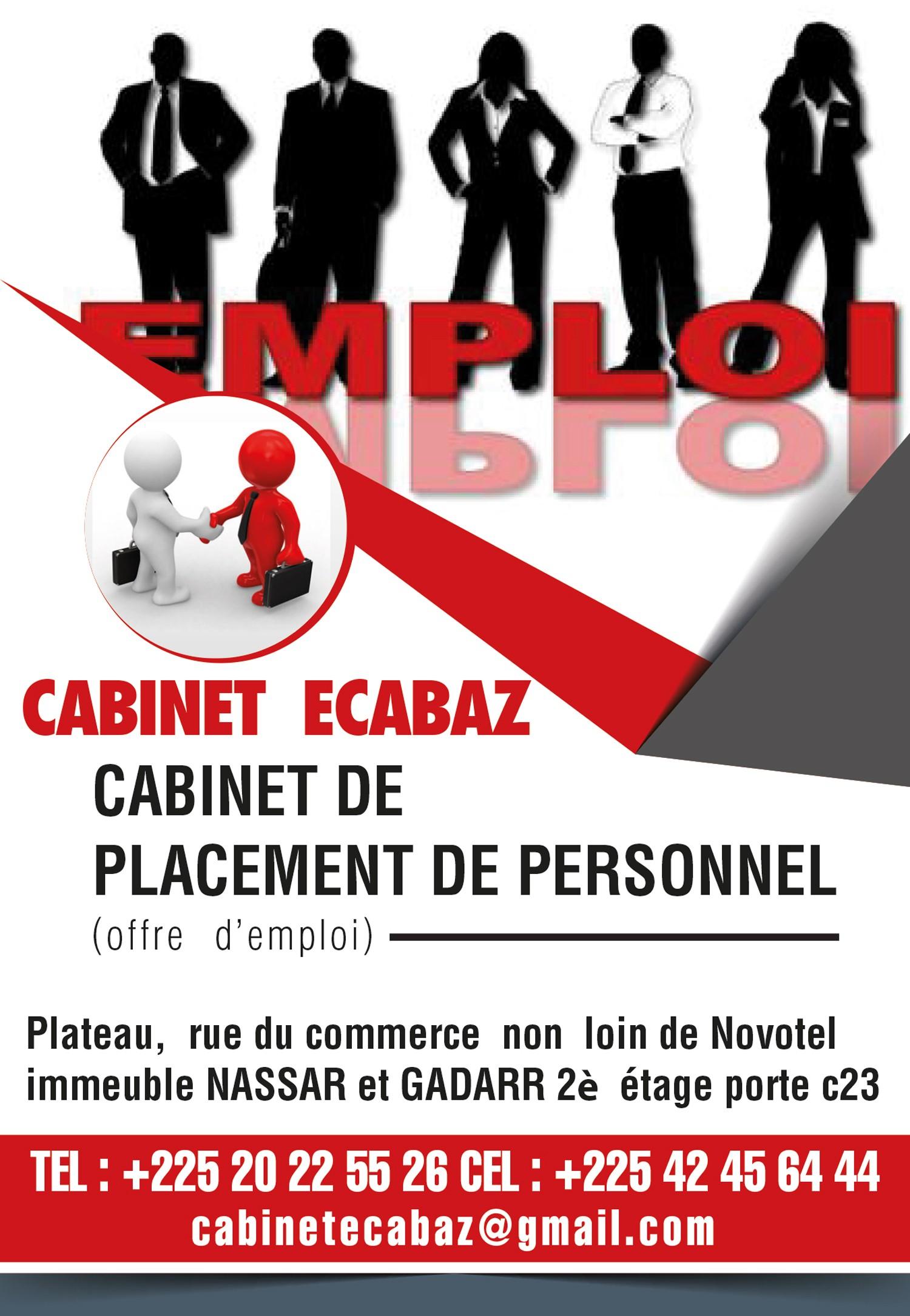 Cabinet ecabaz agences de recrutement - Business plan cabinet de recrutement ...