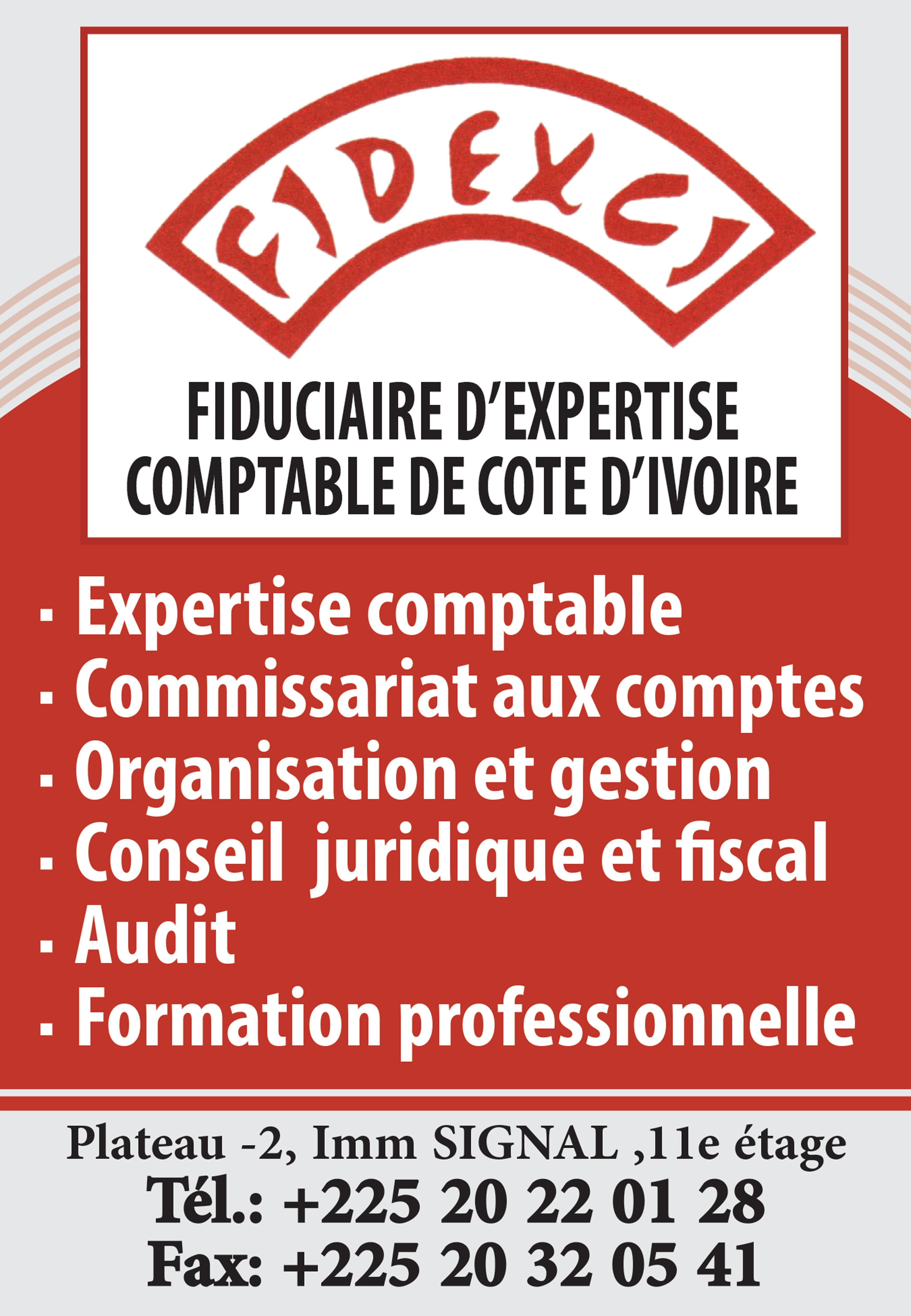Fidexci expertise comptable - Cabinet d audit et d expertise comptable ...
