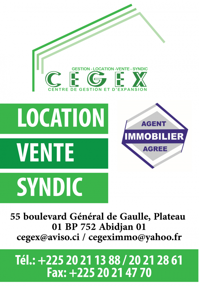 Cegex immobilier agences immobili res for Agence immobiliere 01