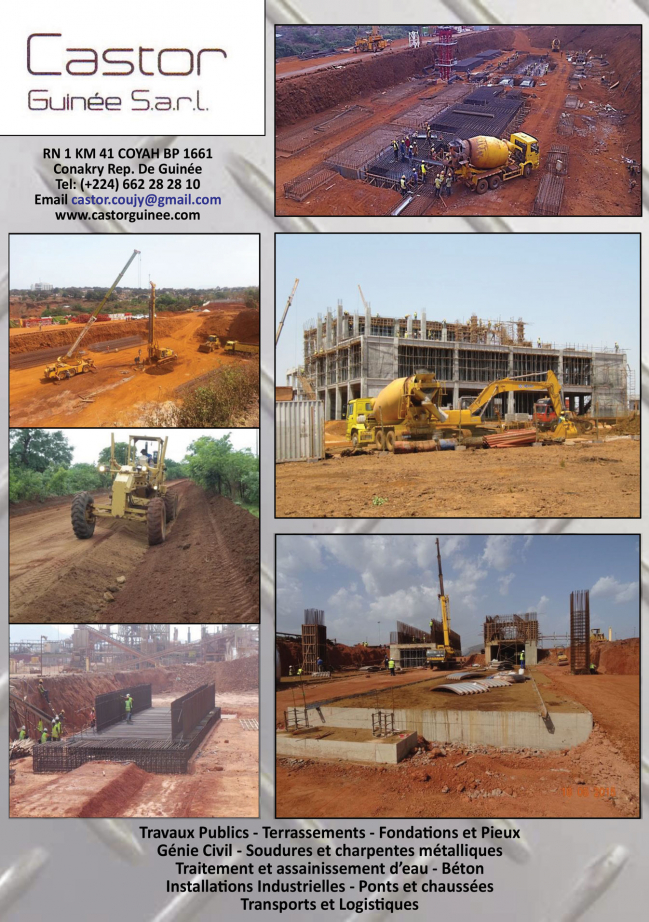 Castor guinee sarl construction for Castor construction