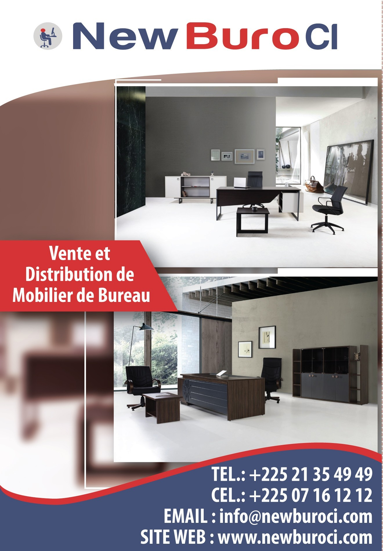 new buro ci mobilier de bureau. Black Bedroom Furniture Sets. Home Design Ideas