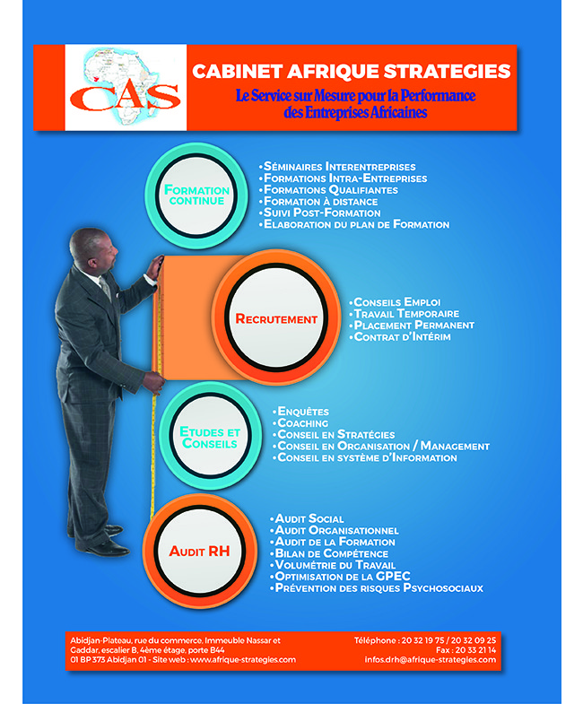 Cabinet afrique strategies formation professionnelle - Cabinet de formation professionnelle ...