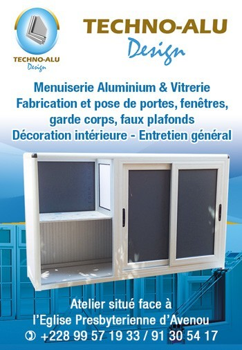 Techno Alu Design Menuiserie Aluminium