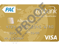 Ecobank Carte Visa Advantage